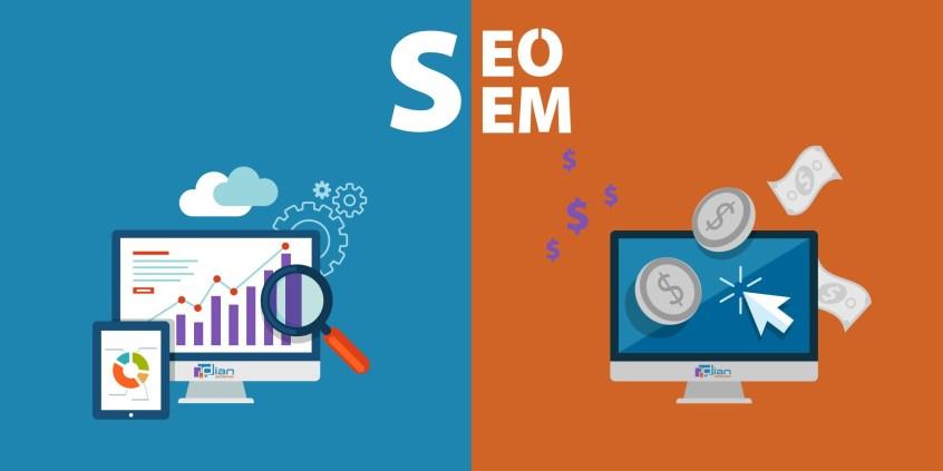 ความแตกต่างของ SEM และ SEO